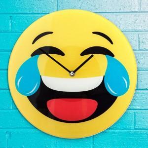 Stenska ura Emoji smeško