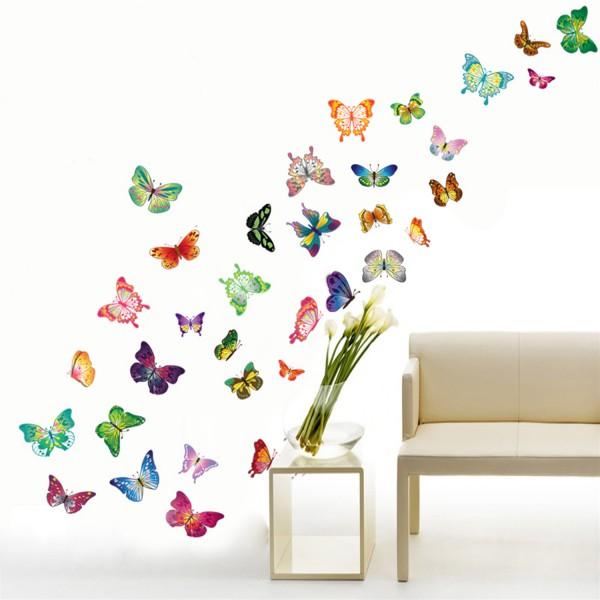Motiv 34 Barvnih metuljev
