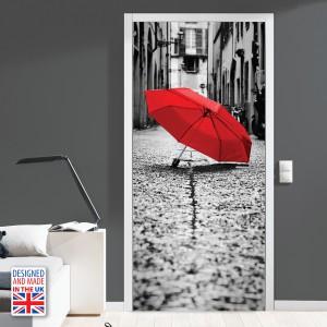 Nalepka za vrata Barve ljubezni (90x200 cm)