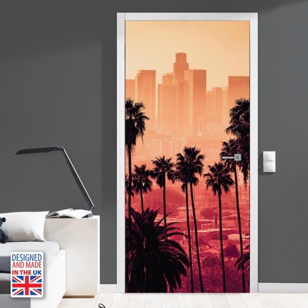 Nalepka za vrata Miami (90x200 cm)