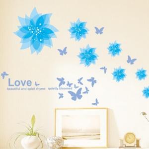 Motiv Modri cvetovi