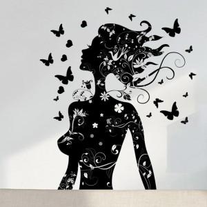 Motiv Črna čarobna vila