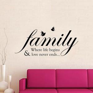 Motiv Družinska ptica