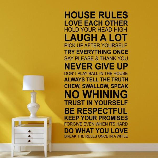 Motiv Hišna pravila