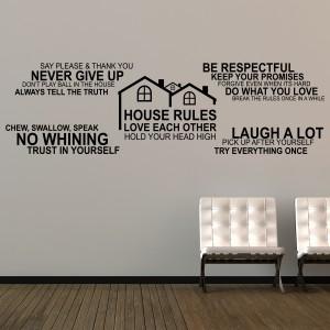 Motiv Hišna pravila IV