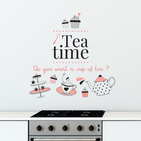 Motiv Kava ali Čaj