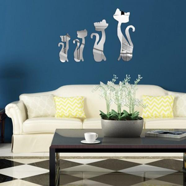 Motiv Ogledalo - mačke