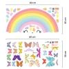 Motiv Mavrica in barviti metulji