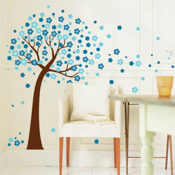 Motiv Modro drevo