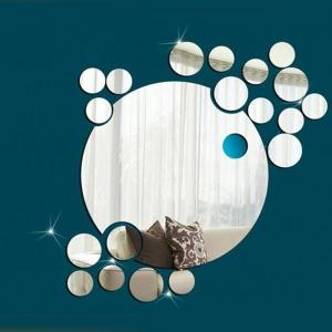Motiv Ogledalo - krog in krogci