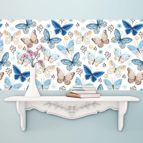 Samolepilna tapeta Pravljični metulji (4x 54x54 cm)