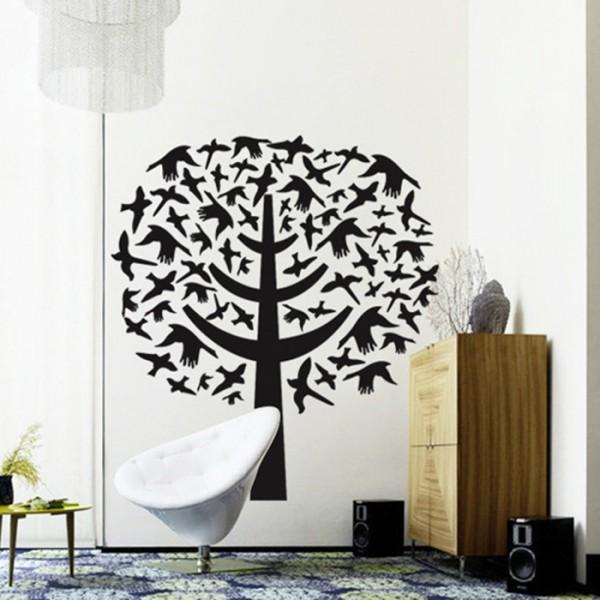 Motiv Ptičje drevo