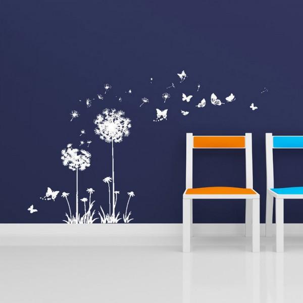 Motiv Regrat z metulji - beli