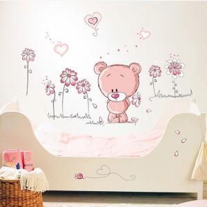 Motiv Roza medvedek