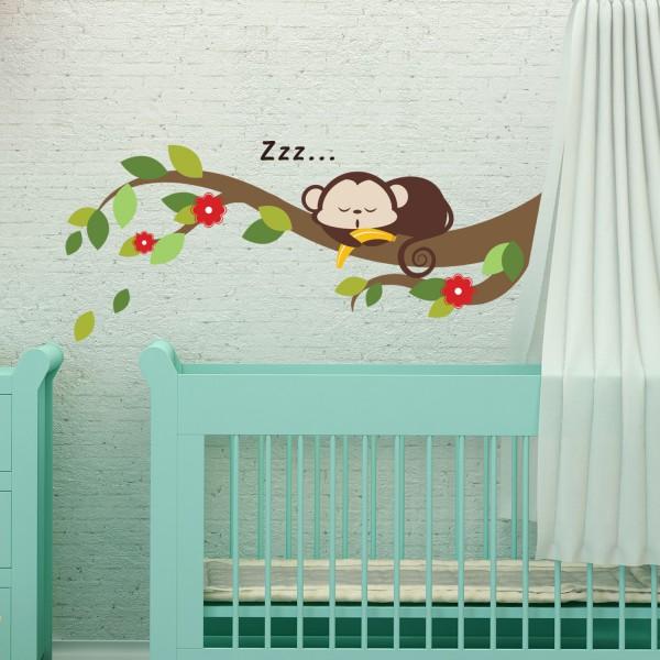 Motiv Speča opica na veji