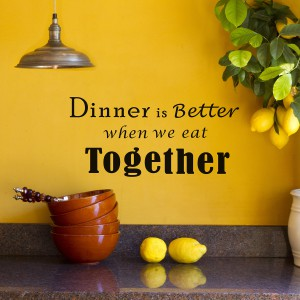 Motiv Večerjajmo skupaj