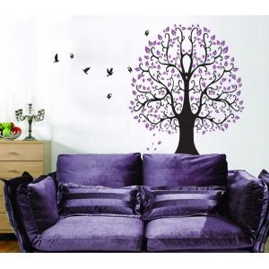 Motiv Vijolično drevo