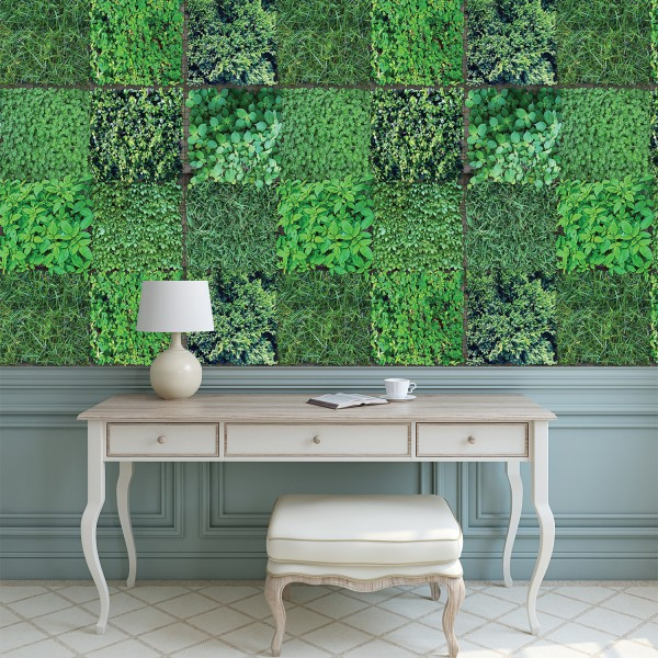Samolepilna tapeta Zelenica (4x 54x54 cm)
