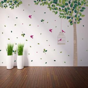 Motiv Zeleno drevo