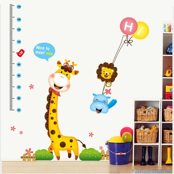 Motiv Žirafa in meter