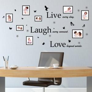 Motiv Življenje, smeh in ljubezen in Foto okvirji
