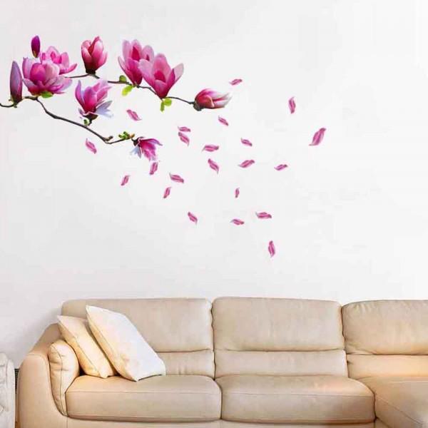Motiv Vijolična magnolija