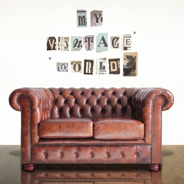 Motiv Vintage črke (velike)