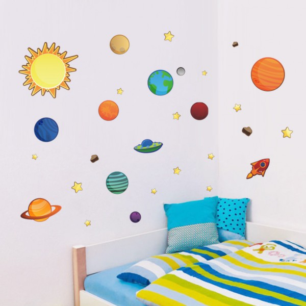 Motiv Barvito vesolje