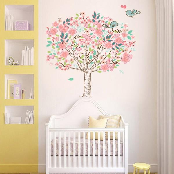 Motiv Češnjevo drevo in ptička