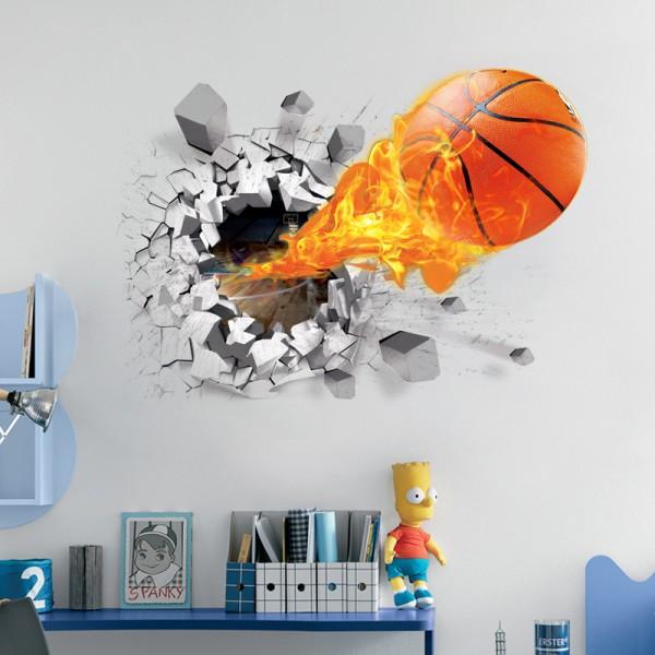 Motiv Košarkarska ognjena žoga