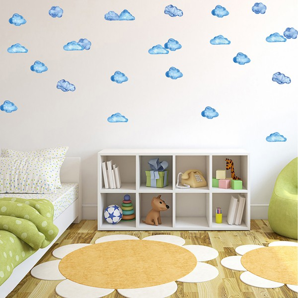 Motiv Pobarvani oblaki
