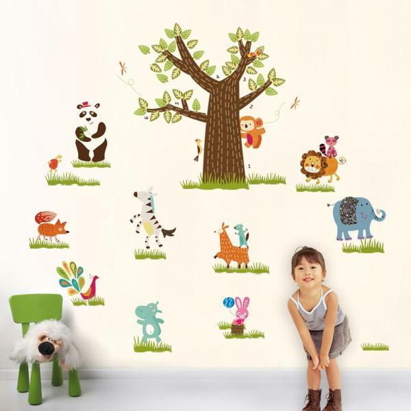 Motiv Veliko živalsko drevo