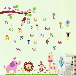 Motiv Slončica in prijatelji in Živalska abeceda