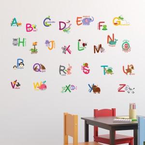 Motiv Živalska abeceda III
