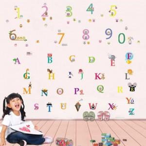 Motiv Živalska abeceda in Števila
