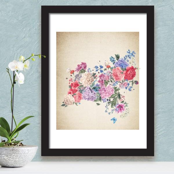 Motiv Abstraktne rože II