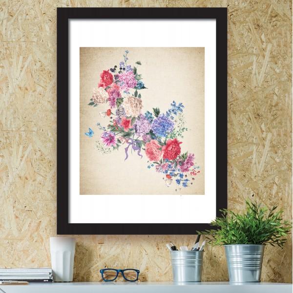 Motiv Abstraktne rože III
