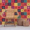 Samolepilna tapeta Barvite Mandala ploščice (12x 20x20 cm)