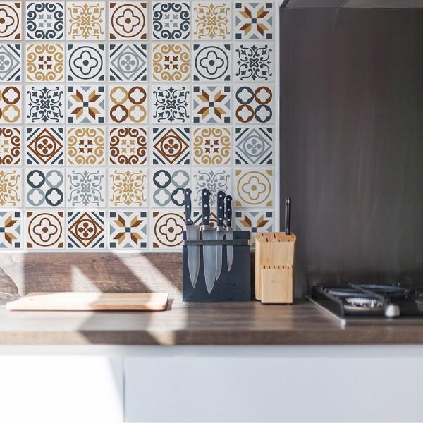 Samolepilna tapeta Azulejo ploščice (24x 10x10 cm)
