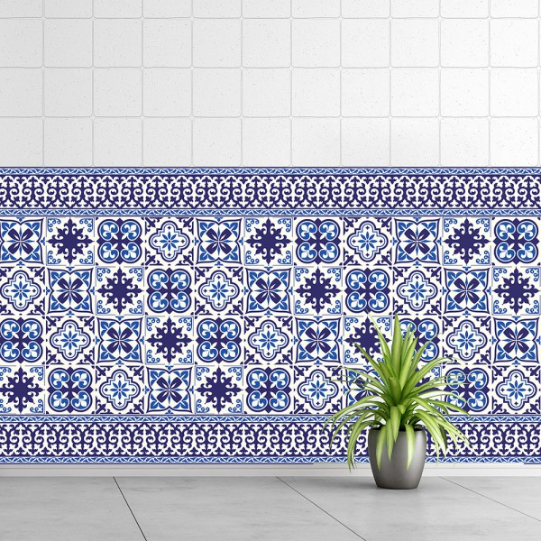 Samolepilna tapeta Granada ploščice (24x 10x10 cm)