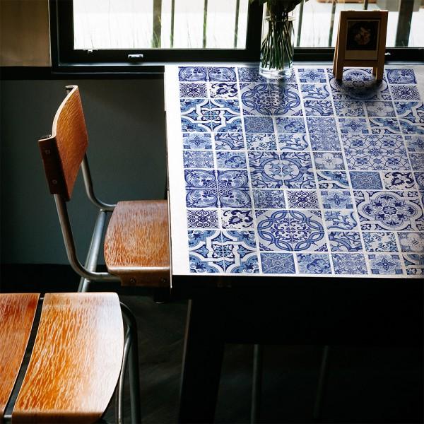 Samolepilna tapeta Oceanske ploščice (4x 54x54 cm)